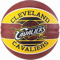 М'яч баскетбольний Spalding NBA Team Cleveland Cavs Size 7