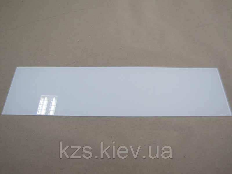 Полка прямоугольная из крашенного стекла 4 мм 550х140мм