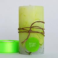 Ароматизированная свеча Лемонграсс