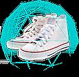 Прозрачное покрытие Aquablock обеспечит стойкий цвет обуви и ткани, фото 6