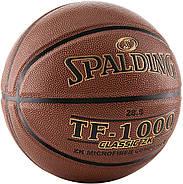 Баскетбольний м'яч спалдінг Spalding TF-1000 Classic ZK Indoor Basketball Game Size 6, 28.5 Оригінал, фото 2