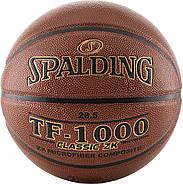Баскетбольний м'яч спалдінг Spalding TF-1000 Classic ZK Indoor Basketball Game Size 6, 28.5 Оригінал, фото 3