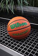 М'яч баскетбольний WILSON Evolution Basketball Game оригінал Size 6, 28.5 композитна шкіра, фото 2