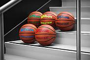 Мяч баскетбольный WILSON Evolution Game Basketball оригинал  Size 6, 28.5 композитная кожа, фото 3