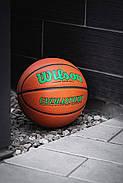 Мяч баскетбольный WILSON Evolution Game Basketball оригинал  Size 6, 28.5 композитная кожа, фото 5