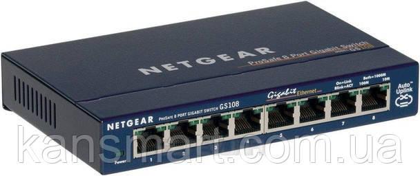 Коммутатор Netgear GS108GE 8хGE