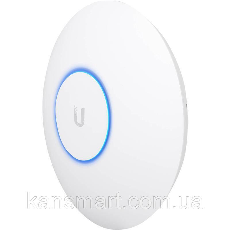 Точка доступу Ubiquiti UniFi UAP-AC-HD (AC2550, 4x4 MU-MIMO, 25 dBm, 2x10/100/1000 Mbps, PoE) Box