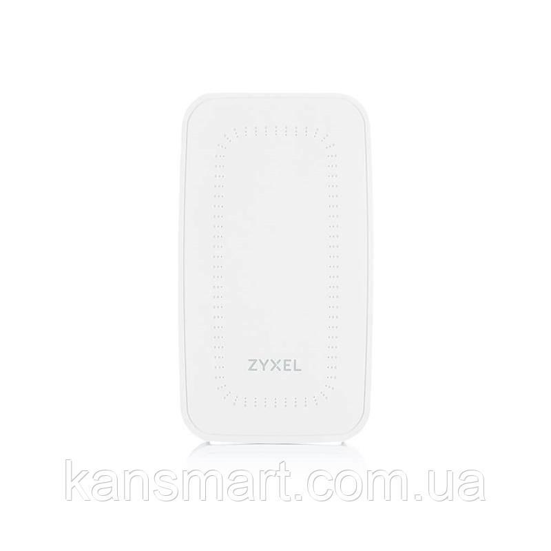 Точка доступа ZYXEL WAC500H (WAC500H-EU0101F) (AC1200, 3xGE, On-Wall, NebulaFlex, защита от 3G/4G, PoE only)