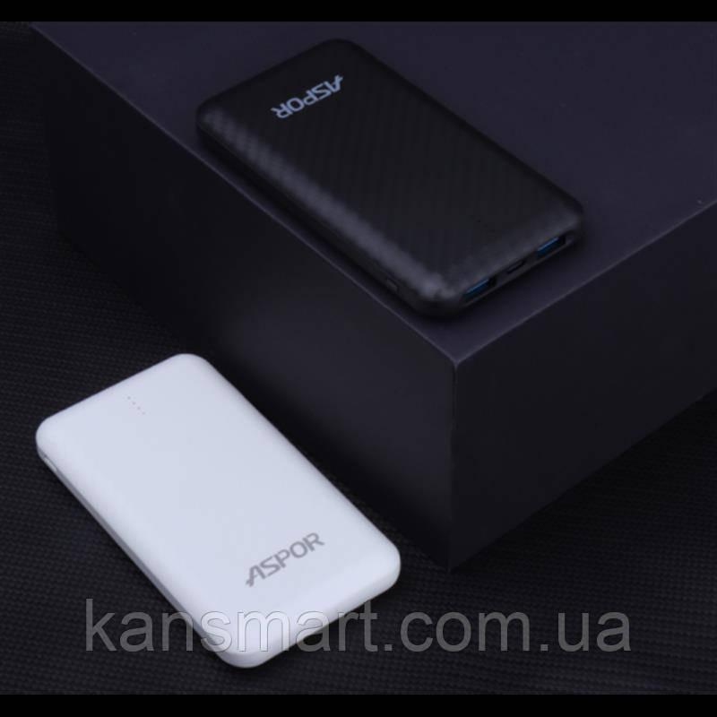 Универсальная мобильная батарея Aspor A335 8000mAh White (900070)