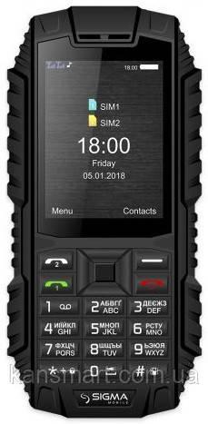 Мобільний телефон Sigma mobile Х-treme DT68 Dual Sim Black (4827798337714)