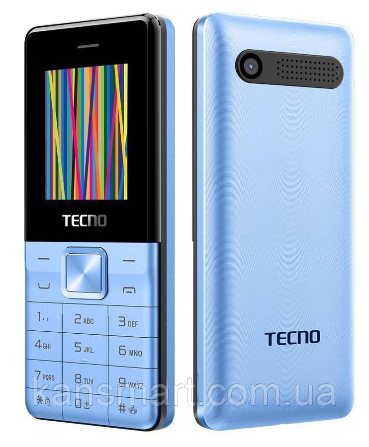 Мобильный телефон Tecno T301 Dual Sim Light Blue (4895180743344)