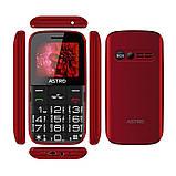 Мобильный телефон Astro A241 Dual Sim Red, фото 3