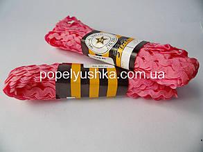 Тесьма В'юнчик 0.5 см Рожевий