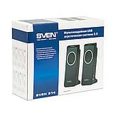 Акустична система Sven 314 Black USB UAH, фото 4