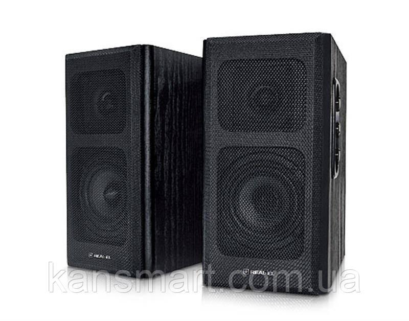 Акустична система REAL-EL S-250 Black UAH