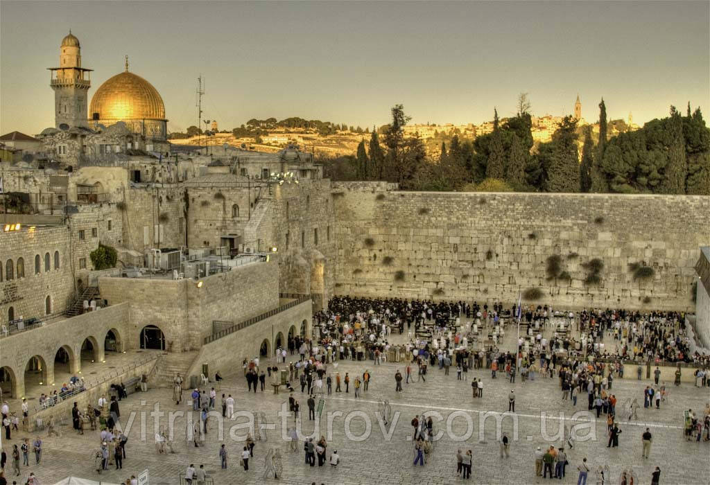 """Экскурсионный тур в Израиль """"Город, который не спит"""" на 8 дней / 7 ночей"""