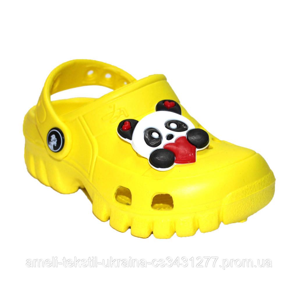 Сабо дитячі Jose Amorales 118008 22 Жовтий