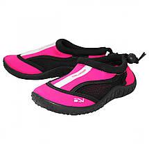 Взуття для пляжу і коралів (аквашузы) SportVida SV-GY0001-R32 Size 32 Black/Pink, фото 3