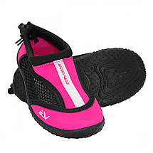 Взуття для пляжу і коралів (аквашузы) SportVida SV-GY0001-R32 Size 32 Black/Pink, фото 2