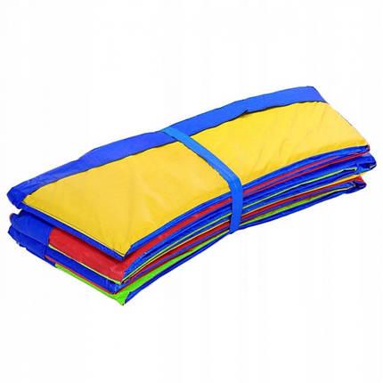 Накладка для пружин (защитный край) для батута Springos 8FT 244-252 см Multicolor, фото 2