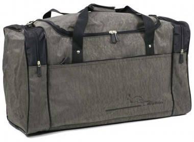 Большая практичная дорожная сумка из жатки 46 л. Wallaby 437-5