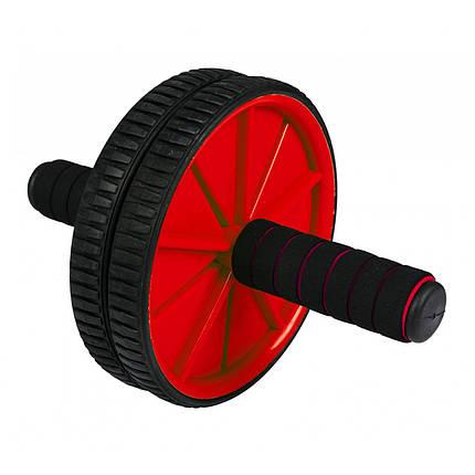 Ролик (гимнастическое колесо) для пресса Sportcraft ES0003 Red, фото 2