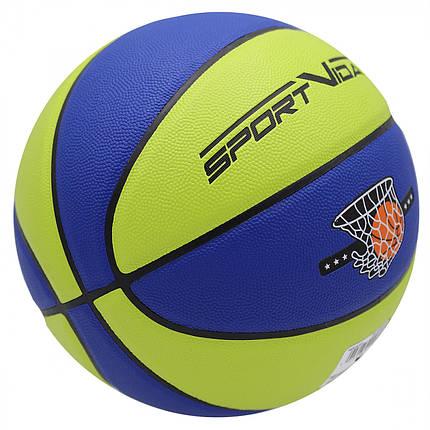 Мяч баскетбольный SportVida SV-WX0022 Size 7, фото 2