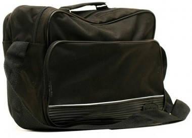 Практичная черная мужская сумка из полиэстера Wallaby 2641