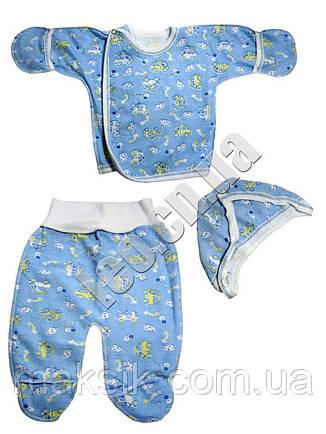 Комплект для новорожденных с начёсом, фото 2