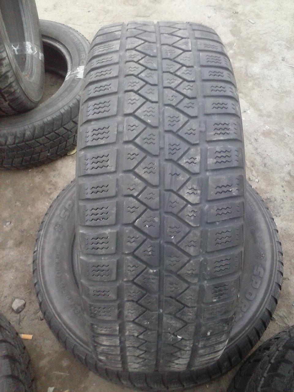 Зимние шины БУ Sportiva WS60 205/60/15 протектор 5мм  2шт