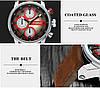 Часы мужские Curren California brown-silver-red, фото 6