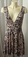 Платье женское летнее легкое сарафан вискоза стрейч мини р.44-46 5119, фото 1