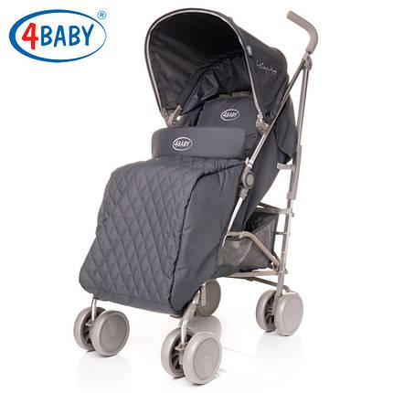 Детская коляска трость 4 Baby Le Caprice 2016 (Dark Grey) , фото 2