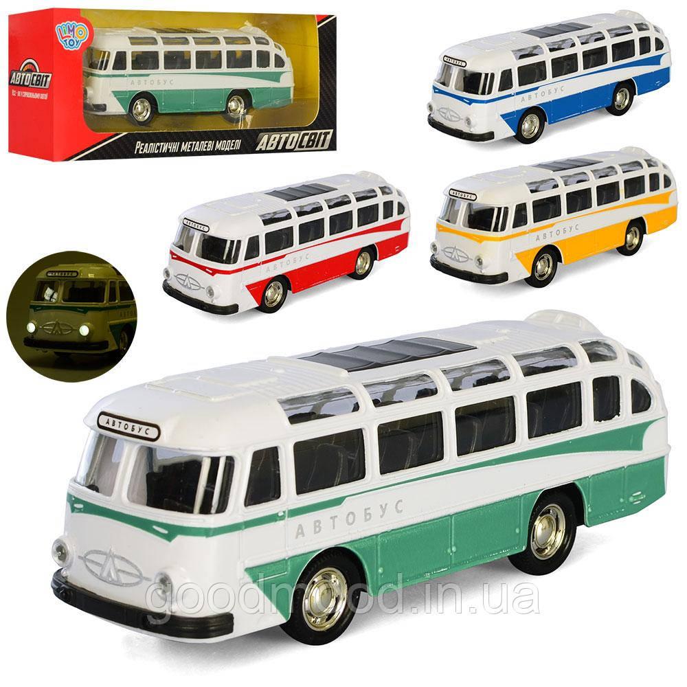Автобус AS-2924 АвтоСвіт,мет.,інерц.,гум.колеса,4кольори,муз.(рос.),світло,бат.-таб.,кор.,19-7,5-5см