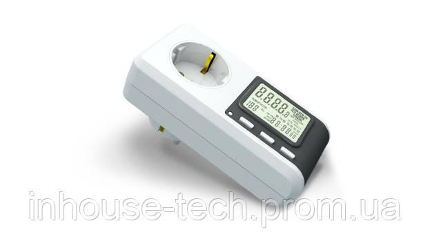 Прибор для снижения расходов на электроэнергию - ваттметр бытовой.
