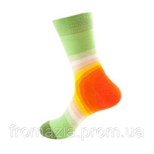 Носки MavkaSocks яркие и стильные Арт светлый 1 пара