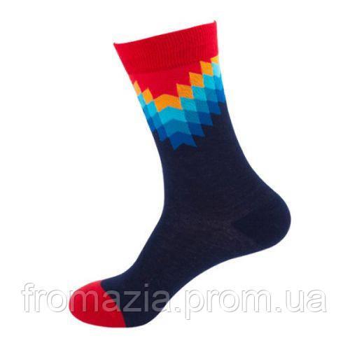 Носки MavkaSocks яркие и стильные Арт темный 1 пара