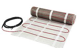 Мат для электрического теплого пола 4 м ( 2м.кв), двужильный нагревательный DEVIcomfort 150T