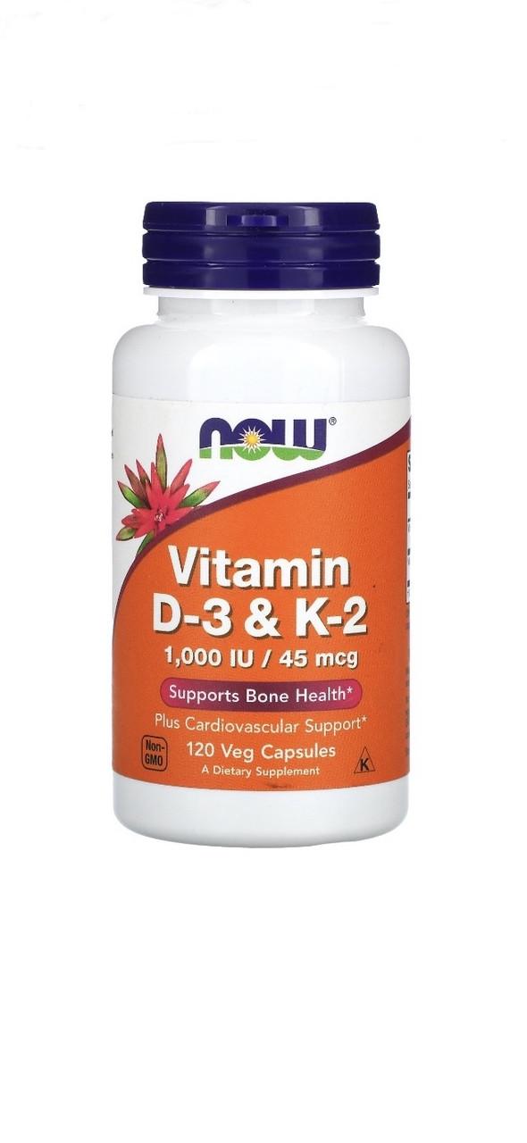 Витамин D3 и К2