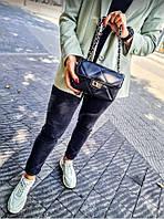 Женские сумки через плечо кросс боди Италия Люкс качество клатч кожаный черный женский Итальянский, фото 1