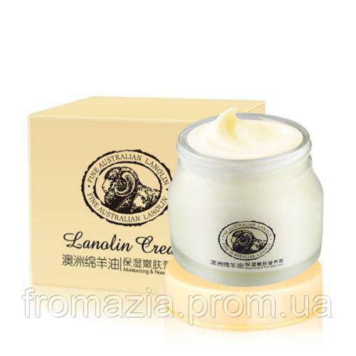 Крем для обличчя та шиї з ланоліном Laikou Lanolin Cream, 90g