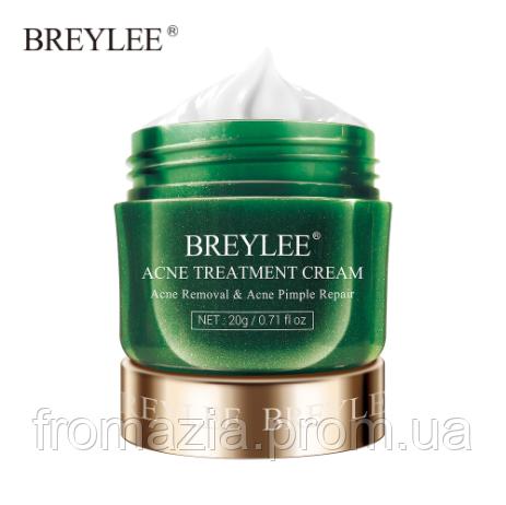 Крем для обличчя BREYLEE для догляду за проблемною і жирною шкірою проти акне (вугрів) 20гр.