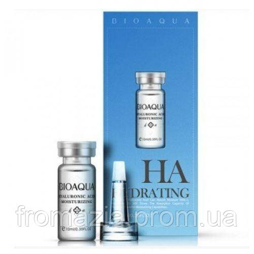 Сыворотка для лица с гиалуроновой кислотой и экстрактом алоэ, BIOAQUA 10 мл