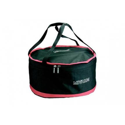 Ведро для прикормки Mivardi Groundbait Mixing Bag XL, ведро для смешивания, складное ведро (M-TMGBCXL), фото 2