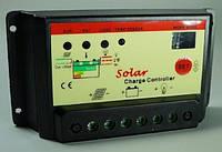 Контроллер заряда для солнечных батарей XUGE - 1024 (12-24V 10А)