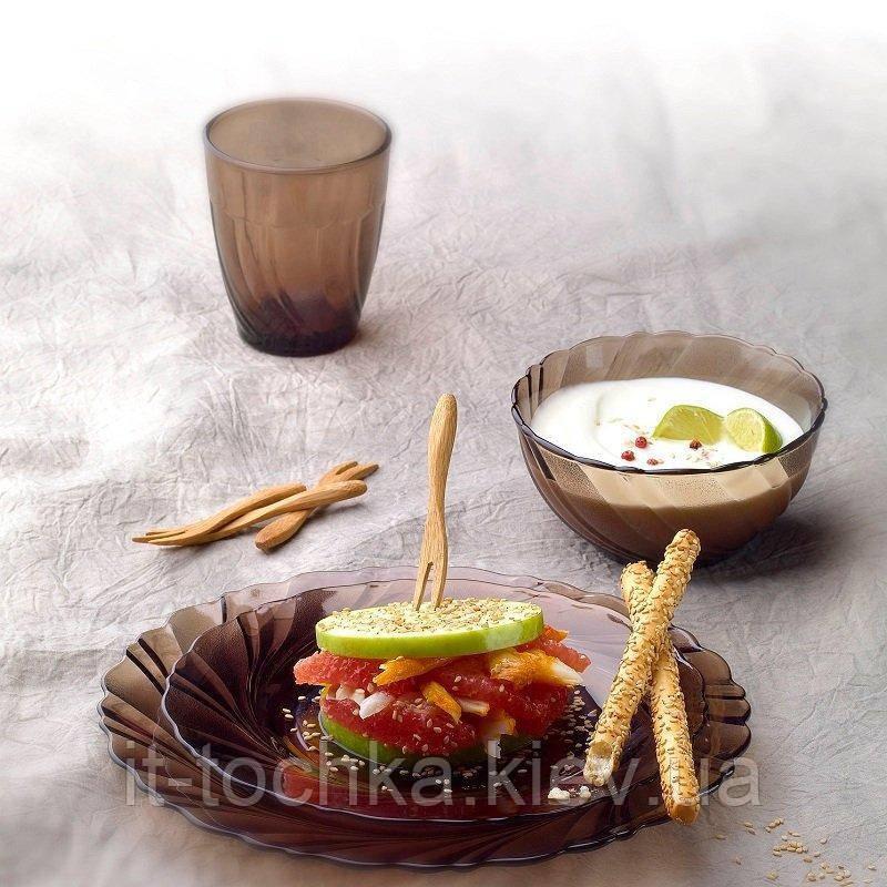 Тарелка десертная beau rivage creole 19,5 см duralex (3003cf06)