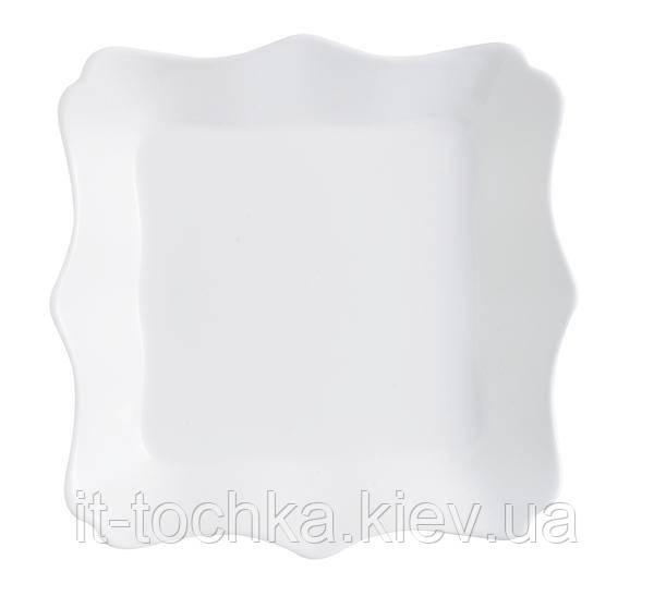 Тарілка столова luminarc authentic white 20.5 см десертна (j4701)