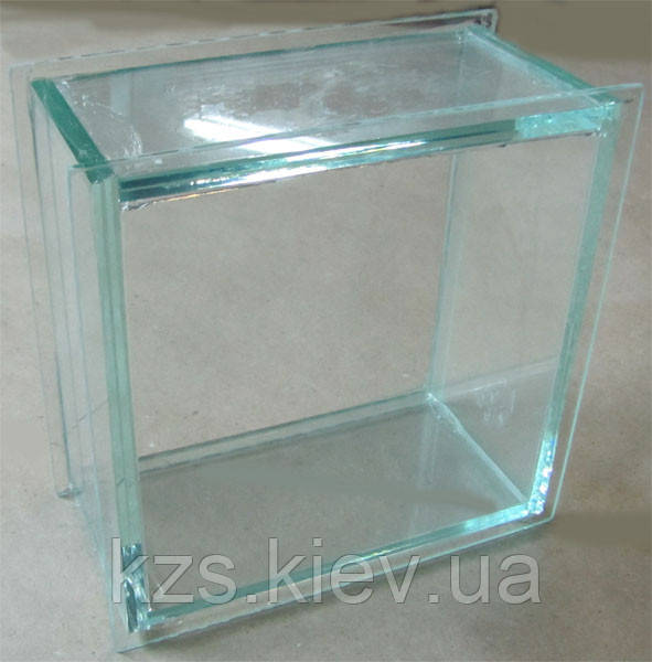 Стеклоблок прозрачный 200х200х100мм (цена только при наличии на складе