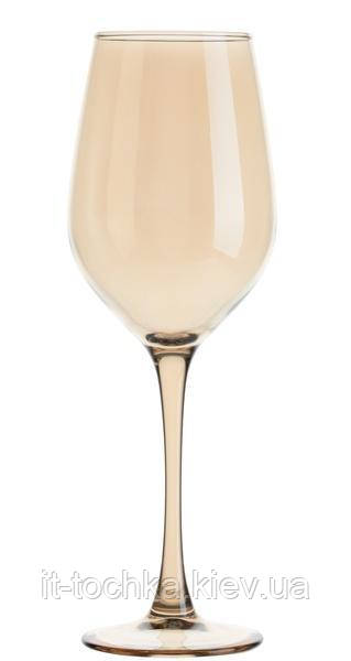 Набор бокалов для белого вина 4 штуки 270 мл luminarc Селест Золотой Мед (p9306/1)