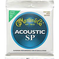 Струны Martin MSP3000 SP Bronze 80/20Extra Light 10-47